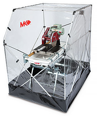 The Saw Tent Is Designed To Contain Spray And Debris When Cutting Tile Or Masonry Material You Can Cut Anywhere Without Worry Of Your Surroundings