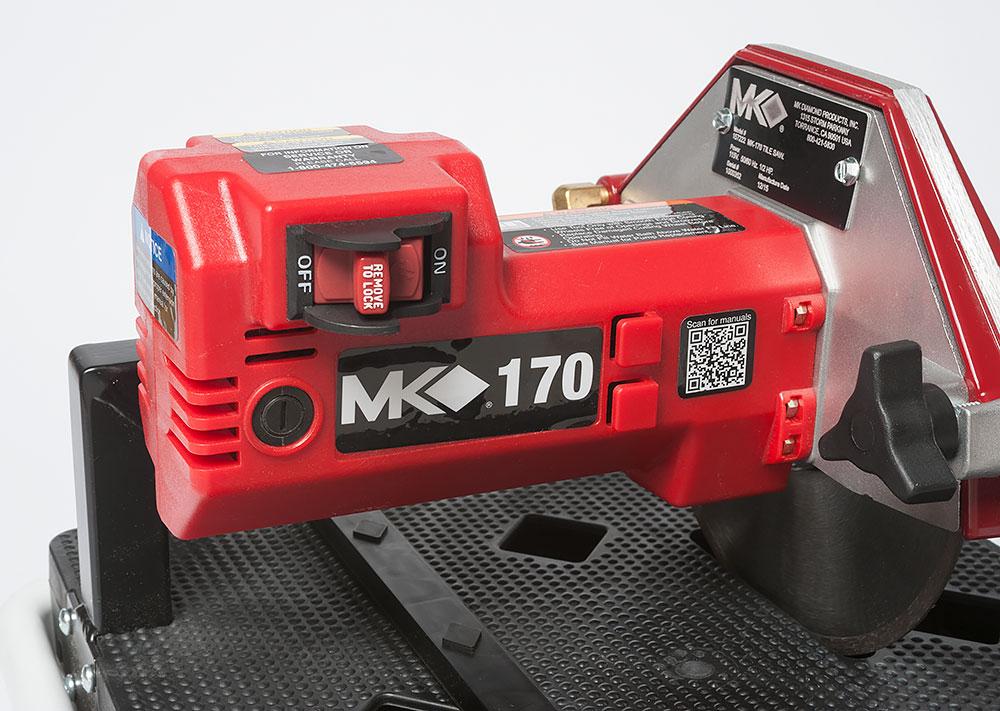Mk Diamond Mk 170 Tile Saw